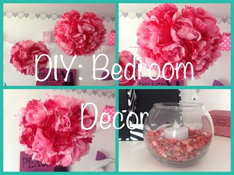 Easy And Cheap Home Decor Ideas by Diy Bedroom Decor Youtube
