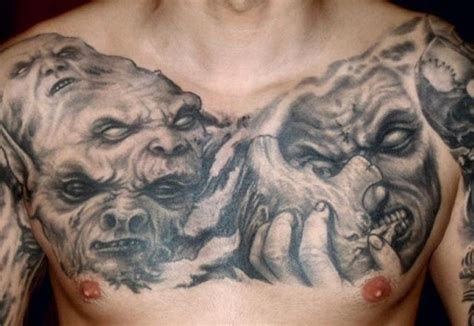 black and grey demon tattoos 26 best images about black and gray tattoos on pinterest