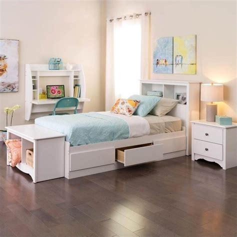 white bed with bookcase headboard bookcase headboard in white wsh 4543