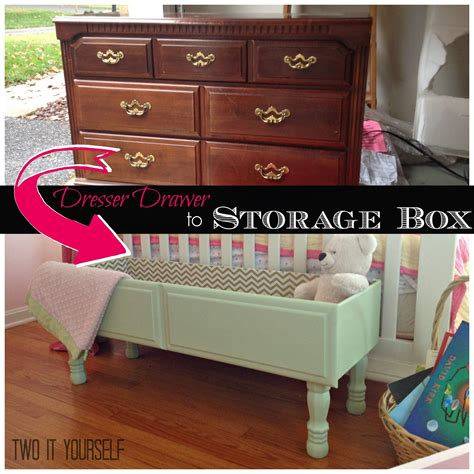 Dresser Projects by Two It Yourself Dresser Drawer To Storage Box Easy Diy Project