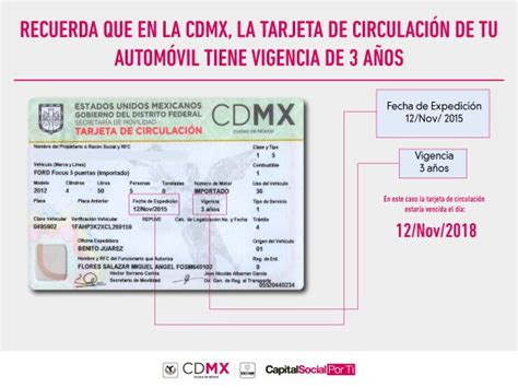 tarjeta circulacin nueva la economia locatel cdmx on twitter quot 191 sabes cu 225 ndo vence tu tarjeta