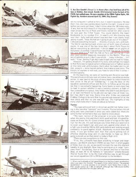 Carrson Test p 51 mustang performance