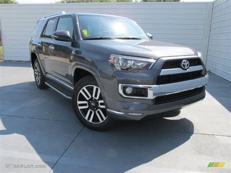 magnetic gray 2016 magnetic gray metallic toyota 4runner limited