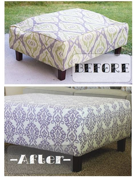 do it yourself ottoman diy how to fix a broken ottoman furniture makeover