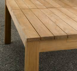 simple outdoor wood dining table design plushemisphere