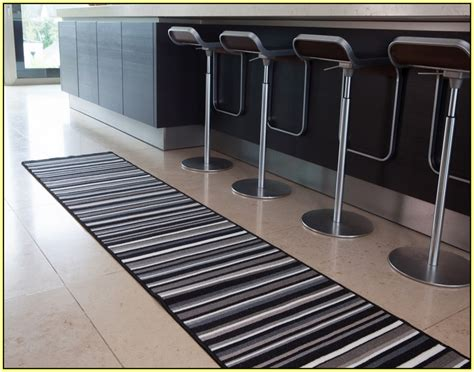 washable kitchen rugs kitchen runner rugs washable brown beige non slip rubber