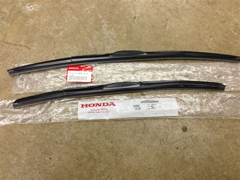 manual repair autos 2007 honda pilot windshield wipe control genuine oem honda civic 4dr sedan front windshield wiper blades 2008 2015 door ebay
