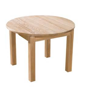 charming White Wood Extending Dining Table #8: pacifica-ash-round-extending-dining-table.jpg