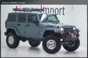2014 Jeep Rubicon Lifted 2014 Jeep Wrangler Unlimited Rubicon Unlimited Moab Custom