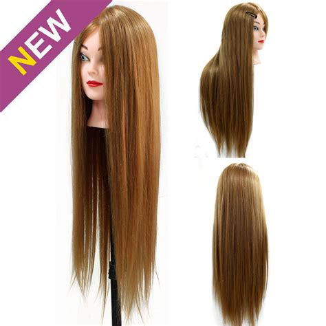 Real Hair Mannequin Heads by 24 Quot Real Human Hair 70 Hairdressing