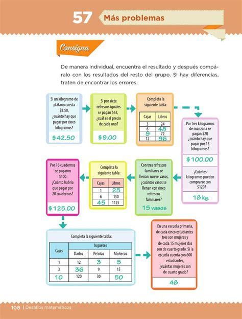 libro dr matematicas de 5 grado contestado pagina 117 ayuda para tu tarea de quinto desaf 237 os matem 225 ticos bloque