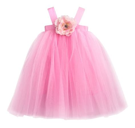Syarina Pink Soft Abu Dress Bruklat flower dress pink tutu dress for wedding and birthday dress buy