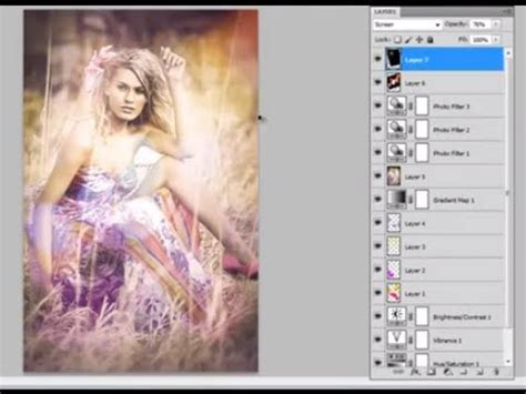 photoshop cs5 superponer imagenes youtube photoshop cs5 how to add a colorful retro vintage effect