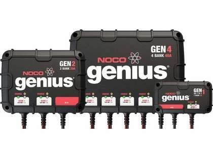 battery chargers direct noco genius onboard battery chargers tackledirect