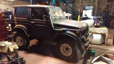 how cars engines work 1985 suzuki sj parking system suzuki sj410 4x4 off roader van manual 4 speed sj samurai car for sale