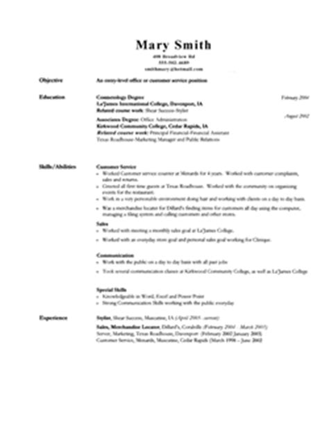 Resume Sles For Temporary Resume Tips Free Cv