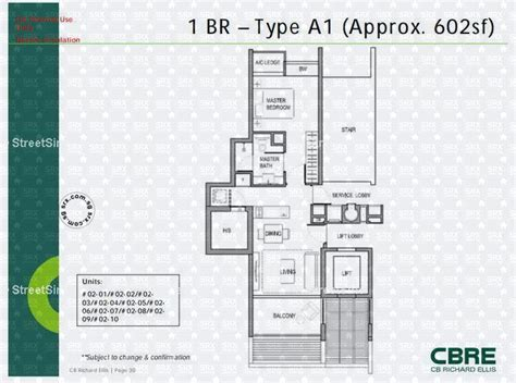 Holland Residences Floor Plan by Floor Plans For Holland Residences Condo Srx Property