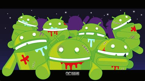 android wallpaper virus attack android foundry