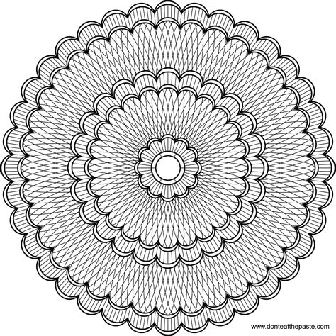 mandala coloring pages for advanced mandala coloring pages bestofcoloring