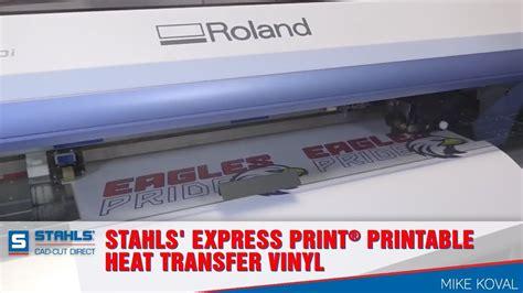 printable vinyl youtube stahls express print 174 printable heat transfer vinyl
