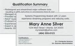 resume business cards the r 233 sum 233 business card what is it