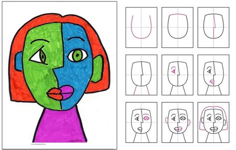 how to draw cubism cubism for drawing will be helpful