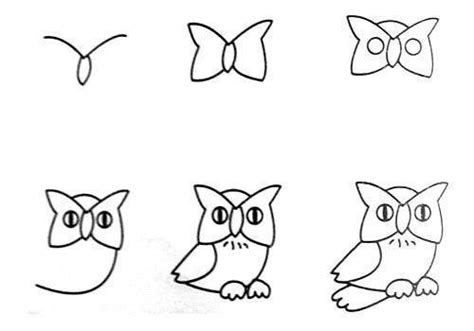 Easy Way To Draw A by Wonderful Idea For Drawing Easy Animal Figures