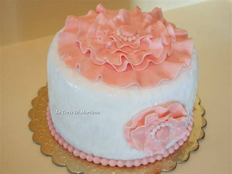 fiori in pasta di zucchero senza stini pasta di zucchero senza glicerina le torte di marilena