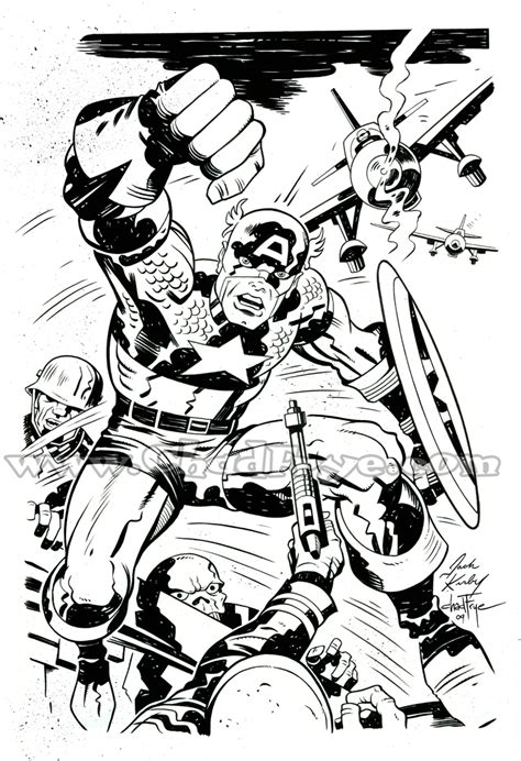 comic world captain america coloring pages