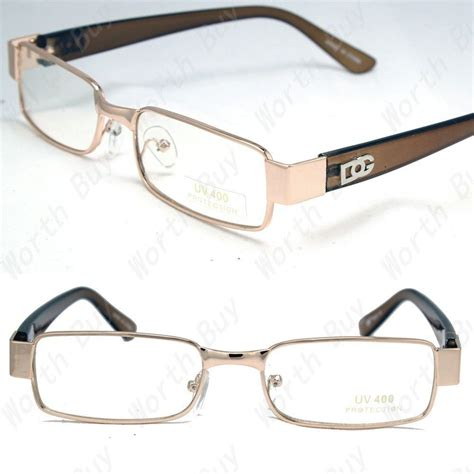 new mens womens dg clear lens frames glasses designer