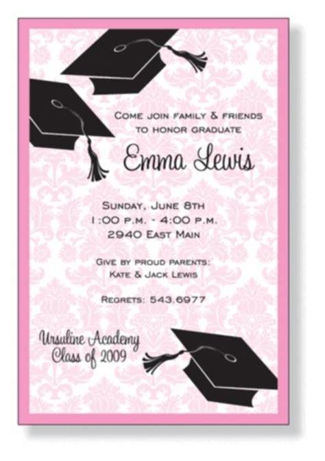 graduation dinner invitation wording graduation invite cards gangcraft net