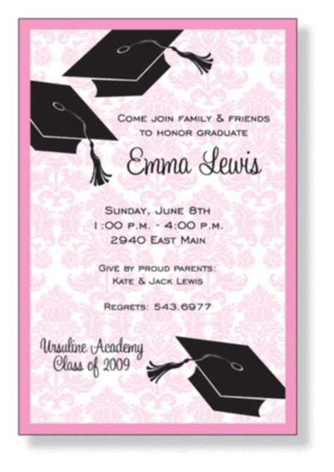 graduation invitation cards templates graduation invitation cards gangcraft net