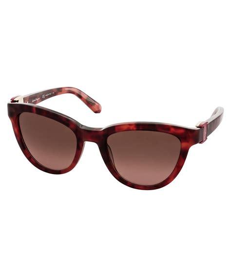 Sunglass Salvatore Ferragamo Coklat salvatore ferragamo salvatore ferragamo s sf817s 54mm sunglasses bluefly