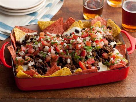 Bowl Side Nachos by Nachos Recipe Rachael Food Network