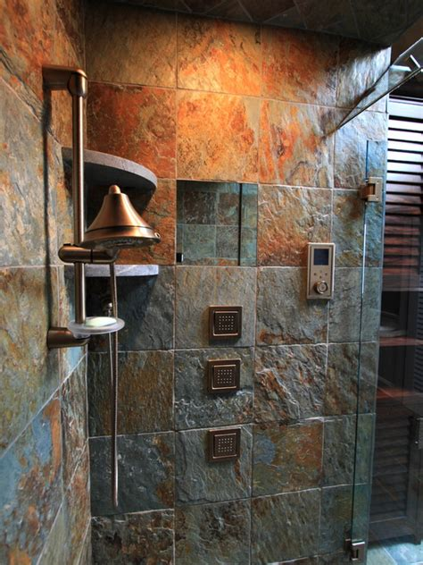 rustic bathroom shower ideas rustic bath tile bathroom design ideas pictures remodel