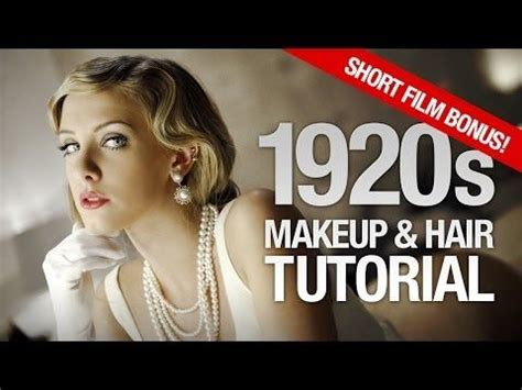 flapper hairstyle tutorial 417 best images about 1920 s hair styles on