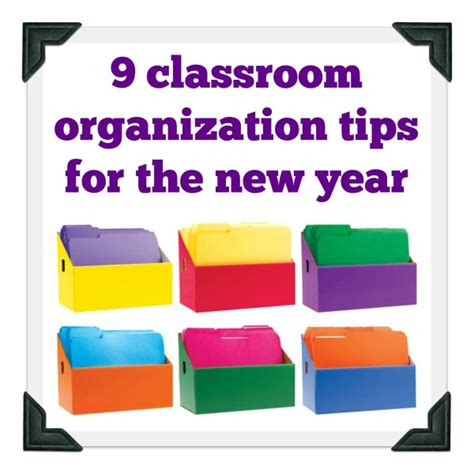 organizational tips 9 classroom organization tips for the new year