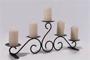 Table Candle Holders Penton Beautiful Table Top Or Hearth Candelabra