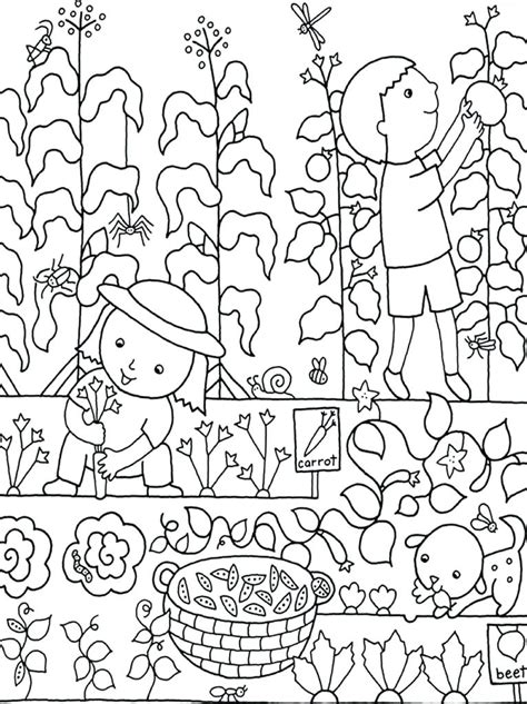 secret garden coloring book tips garden coloring pages printable gardening colouring page