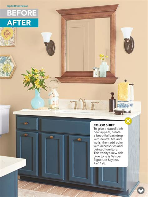 ideas for painting bathroom cabinets paint bathroom vanity craft ideas guest