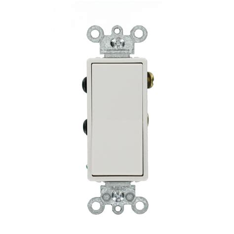 residential switch with light indicator white leviton 15 amp decora residential grade 4 way lighted