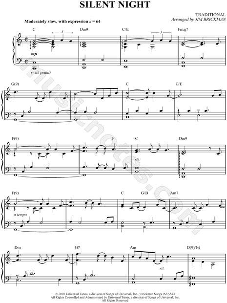 lyrics jim brickman chords jim brickman quot silent quot sheet piano in c