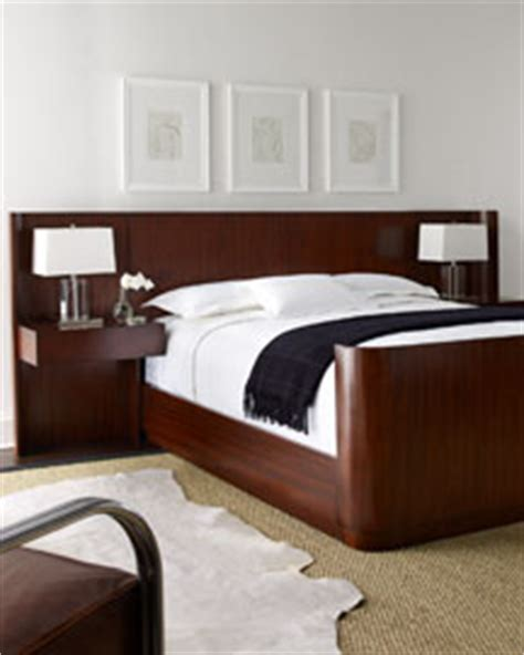 ralph lauren laurel drive bed with side wings nightstands