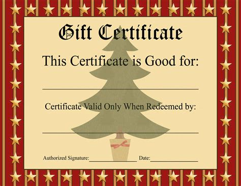 movie gift certificate template 4 best and various