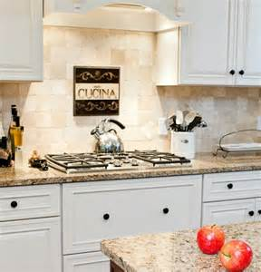 Traditional Kitchen Backsplash Ideas Traditional Spaces New Venetian Ice Granite With