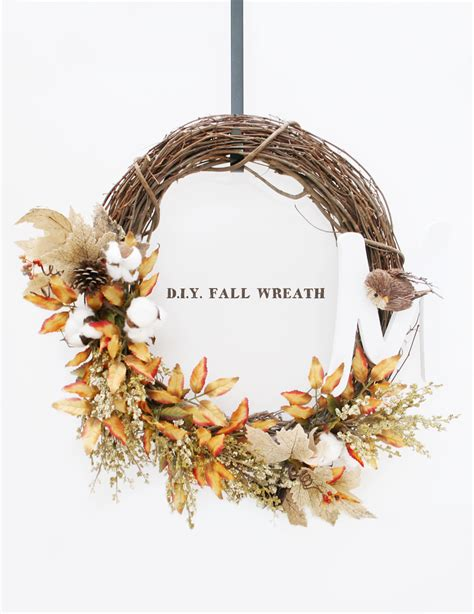 wreath diy diy fall wreath