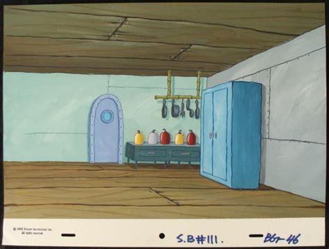 background kitchen original spongebob animation