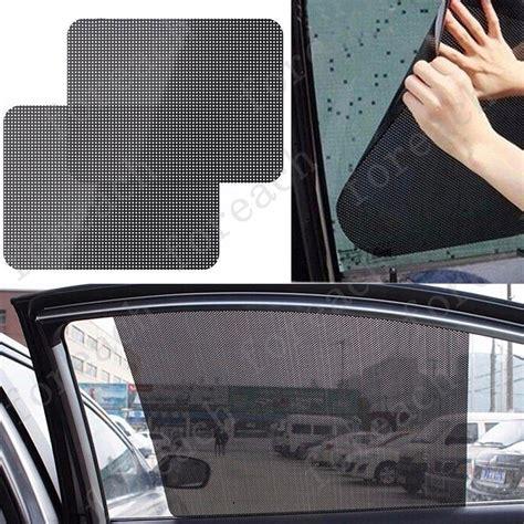 Fenster Sichtschutz Auto by 2 St 252 Ck 42x38cm Autofenster Sonnenschutz Auto Fenster