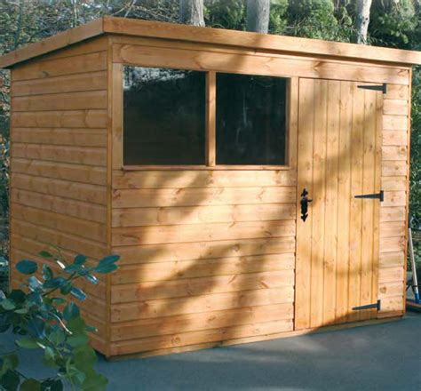 notton pent shed hampshire timber pent sheds