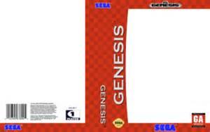 genesis template sega genesis template